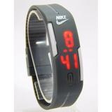 Relogio Nike Led Digital Silicone Preto Ajustavel Promoção