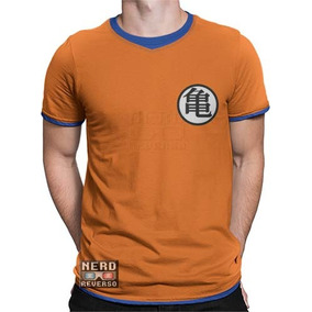 Camisetas Goku Dragon Ball Z Mestre Kame Gohan Vegeta Animes
