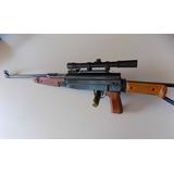 Rifle De Aire Comprimido 5.5 Tipo Ak 47 Red Target 850 Fps