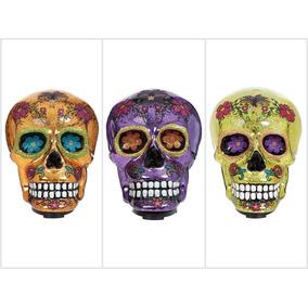 Día De Muertos Figura Decorativa De Cráneo