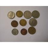 Lote De 10 Monedas Americanas.- (j19)