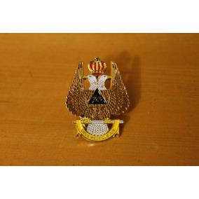 Pin Águila Bicéfala Grado 33 Mason Masónica