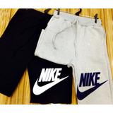 Shorts Moletom Nike Bermuda Nike Academia adidas Onbongo