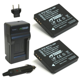 Wasabi Power Battery (2-pack) And Charger For Panasonic Lumi