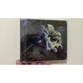 Cd Michael Jackson - Scream Original E Lacrado