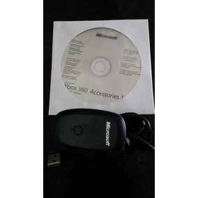 Receiver Controle Wireless Xbox360 P/ Pc Original Microsoft