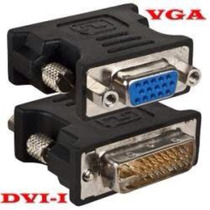 Adaptador Dvi X Vga Placa Video Monitor Gabinete Tv Lcd Led