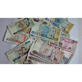 Dinheiro Antigo Notas Raras Cruzeiros Cruzados Ótimo Preço