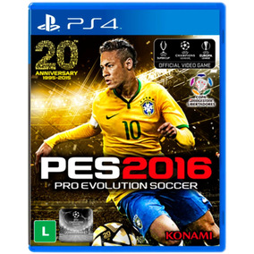 Pro Evolution Soccer Pes 2016 Ps4 Mídia Física Novo Lacrado