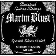 Encordado Guitarra Clásica Crioll Martin Blust Tensión Media