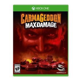 Carmageddon: Max Damage - Xbox One Novo, Mídia Física