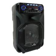 Caixa Bluetooth Potente 800w Sumay Thunder Black Portátil