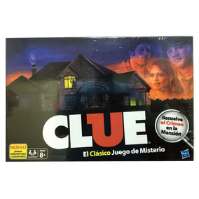 Clue Refresh El Clasico Juego De Misterio Original Toyco