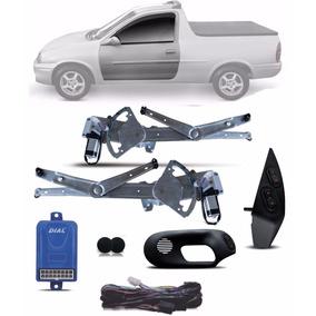 Kit Vidro Eletrico Pick Up Corsa 2 P E Trava 2 Portas