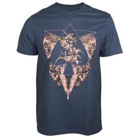 Camiseta Mcd Sepultura Roots - Azul
