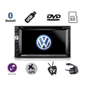 Kit Multimidia Polo Gps Tv Digital Usb Dvd Camera De Re Bt