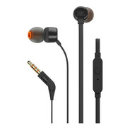 Audifono In-ear Jbl T110 Manos Libres  Negro  - Audiomobile