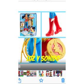 Dc Comics Super Heroes Mujer Maravilla Actionl, Original