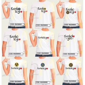 Camiseta Radiologia Baby Look Faculdade Curso Camisa Radio