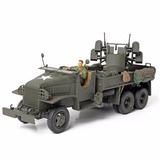 Caminhão Us Army Gms 2 5 Ton Cargo Truck 1:32 Unimax 80060