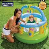 Corral Inflable Gym Para Bebe Marca Intex