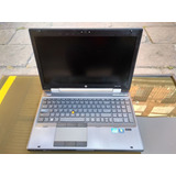 Laptop Bara Hp Core I7 Elitebook 8560w 8gb Ram Disco 500 Gb