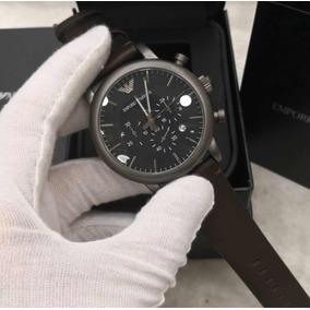 27d4db409c6 Pulseira Couro Relógio Emporio Armani Masculino - Relógios no ...