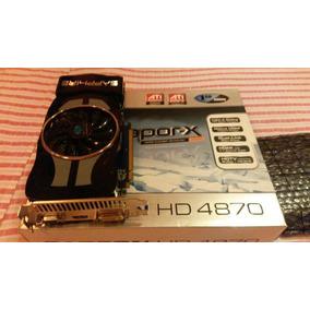 Placa De Video Amd Ati Radeon 4870 Hd Vapor X 1gb Ddr5