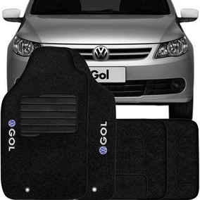 Tapete Carpete Combat Bordado Volkswagen Gol G5 - 5 Peças