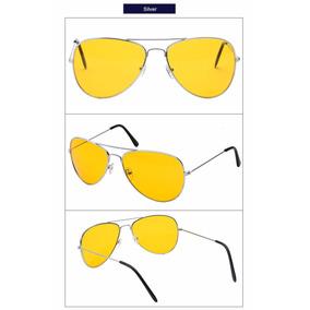 Óculos Grande Bl Lentes Amarela P/ Dirigir A Noite