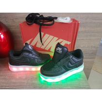 Tênis Nike Criança De Led Carregador Lindo Foto Original Pro