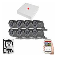 Kit Cctv Circuito Cerrado 8 Camaras Vigilancia Epcom Bh 2tb