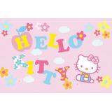 Painel Decorativo Festa Infantil Sanrio Hello Kitty (mod5)