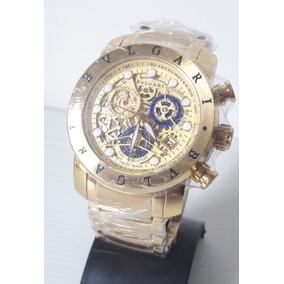 42511440df0 Relógio Bvlgari Homem De Ferro Garantia - Relógios no Mercado Livre ...