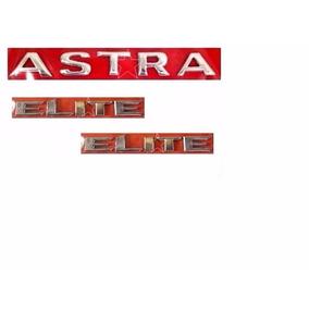 Emblemas Porta Malas Paralama Astra Elite 2003 À 2007