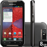 Motorola Iron Rock Ptt 2 Chips Idem 3g - Peli Vidro 8gb Zero