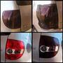 Película Mascara Negra Fume Farol Lanterna Pisca 50cm X 30cm