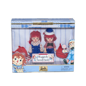 Bonecos Collector Kelly E Tommy Raggedy Ann E Andy - Mattel