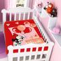Cobertor Jolitex Infantil Berço Bebê Disney Minnie Festa