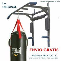 Envío Gratis! Barra Dominadas 5 - 1 Multigym Abs Trx Mma Box