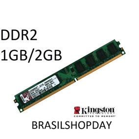 10 Pcs Memória Ram Ddr2 1gb Desktop Intel