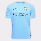 Camisa Manchester City Home 17/18 Original Empires Sports