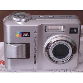 Câmera Digital 5mp Kodak Easy Share C533. Enviamos Td.brasil