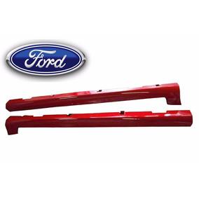 Par Spoiler Lateral Vermelho Ford Ka 2008 2009 2010 11 12 13