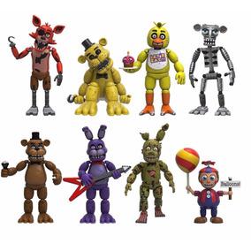 8 Bonecos Five Nights At Freddy