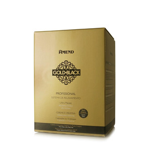 Kit Amend Guanidina Relaxamento Gold Black 1kg