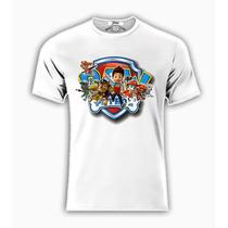 Playera O Camiseta Paw Patrol Patrulla De Cachorros