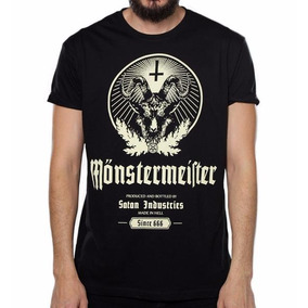 Playera Monster Meister Original Jagermeister
