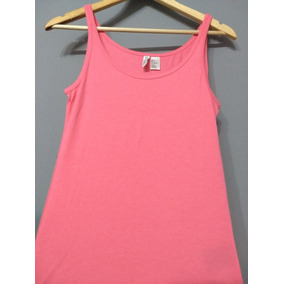 Musculosa Rosa Hym Mujer