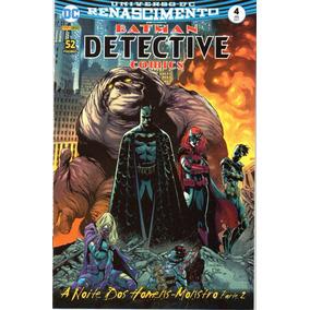 Detective Comics 4 Renascimento - Panini Bonellihq Cx367 G18
